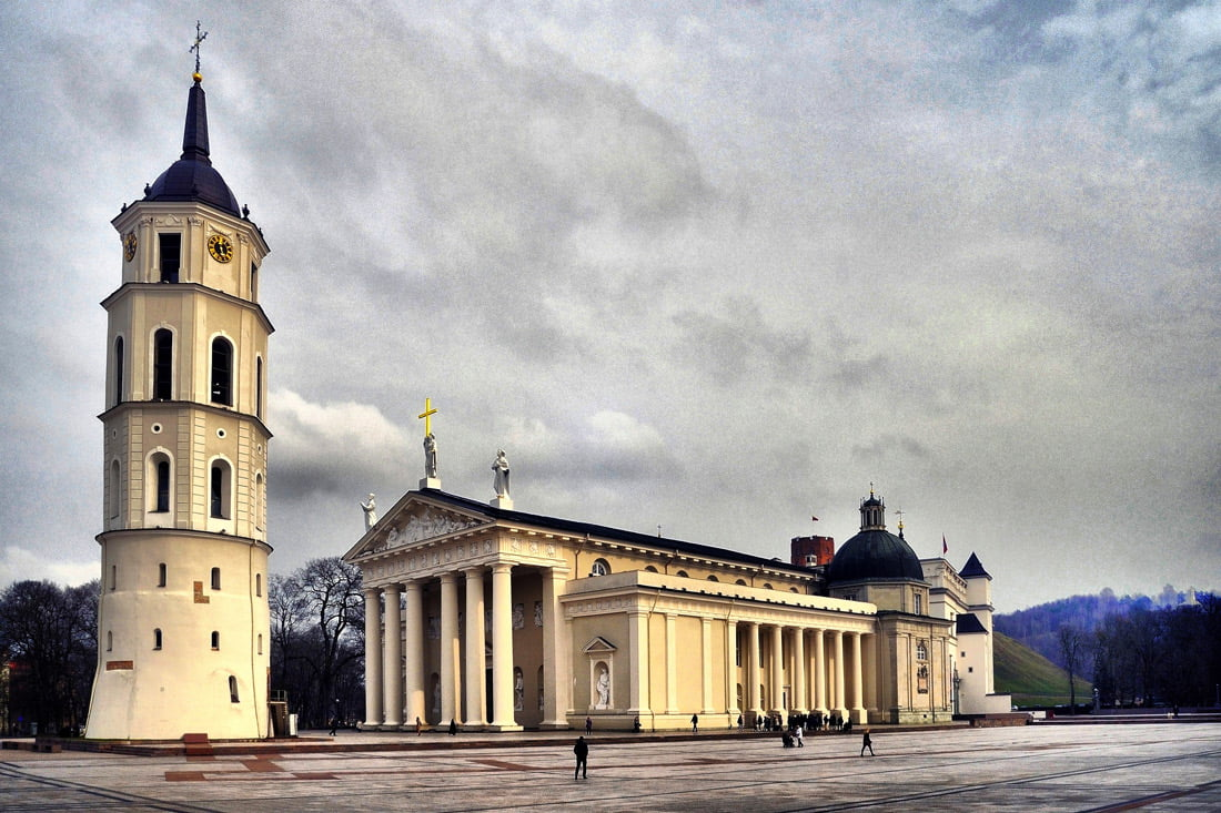 Vilniaus Katedros aikštė. VGTU nuotr.