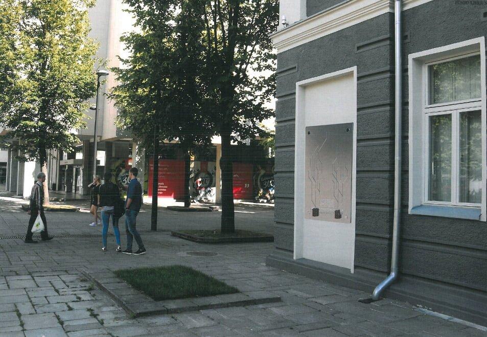 """Šiuo metu įgyvendinami projektai: DOMINYKAS VAKRINAS. Projektas """"Funikulierius""""."""