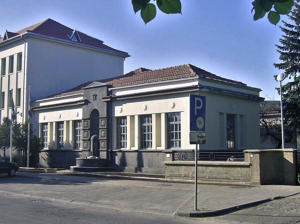 Žaliakalnio vandentiekio stotis Aukštaičių g., suprojektuota 1938 m. G. Oržikausko nuotr.