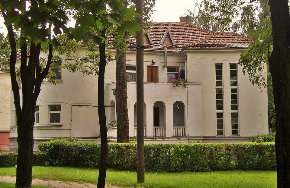 Buvęs Lietuvos katalikių moterų draugijos centro valdybos pastatas Perkūno al. Žaliakalnyje, suprojektuotas 1939 m. G. Oržikausko nuotr.