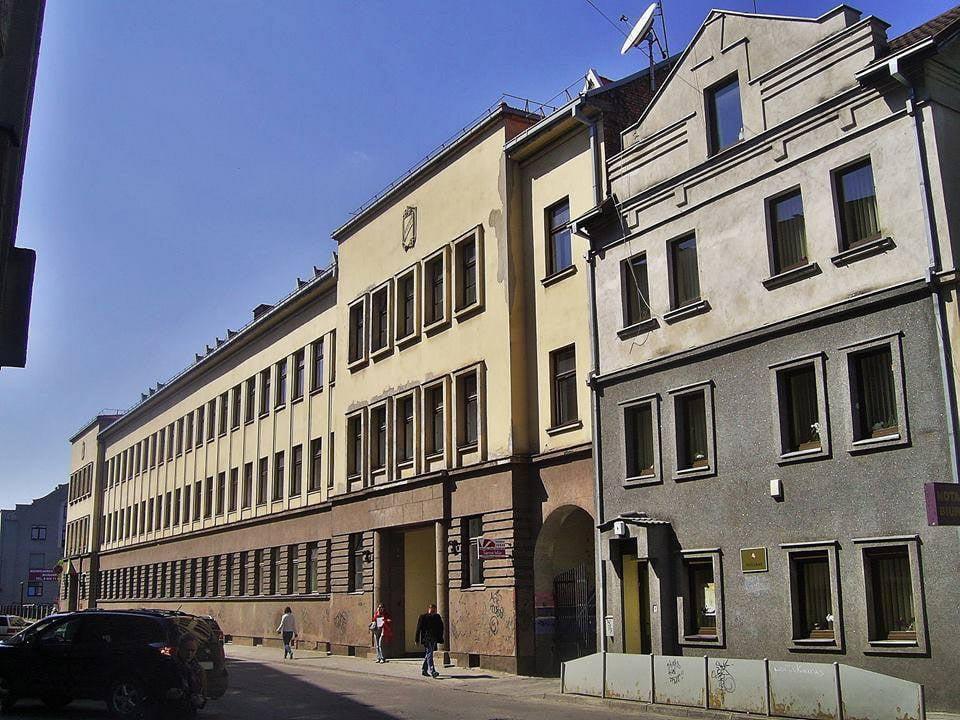 Pradinė mokykla ir pedagogikos muziejus (dab. Kauno Juozo Gruodžio konservatorija) J. Gruodžio g., suprojektuota 1940 m. G. Oržikausko nuotr.
