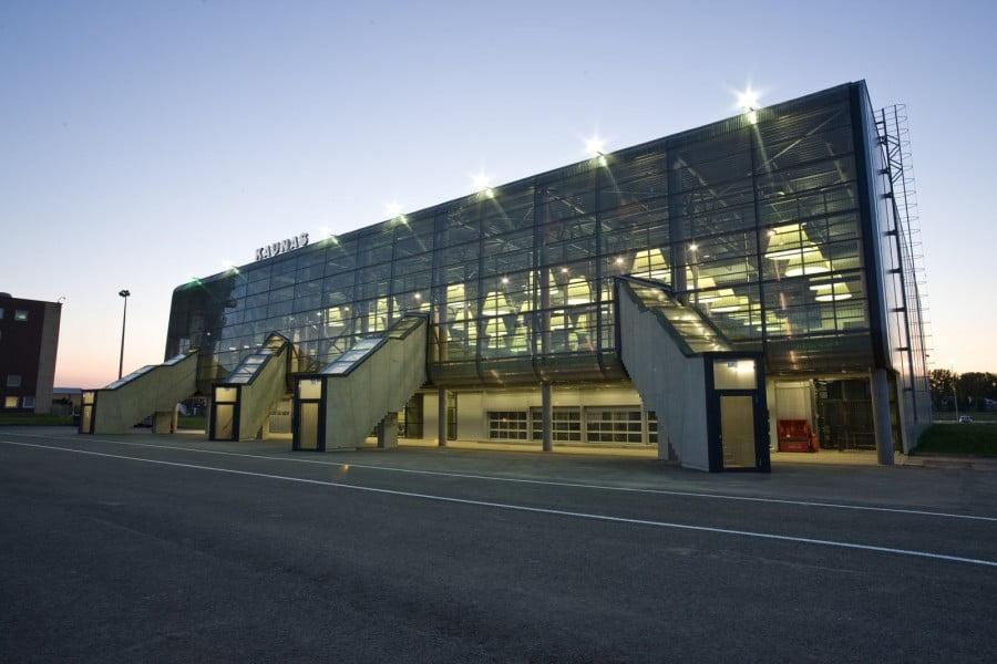 Kauno oro uostas.