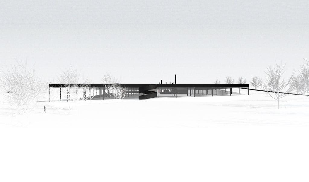 Kelių muziejaus projektas. Projekto autorių vizual.