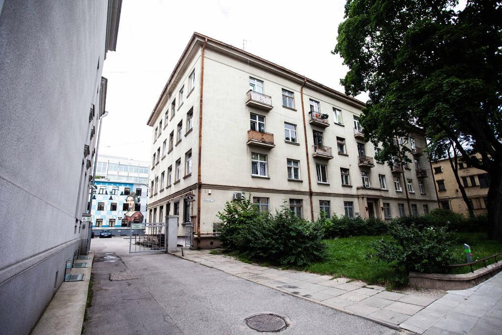 Buvęs KTU bendrabutis (Mickevičiaus g. 39, plotas 703,92 kv. m). KTU nuotr.