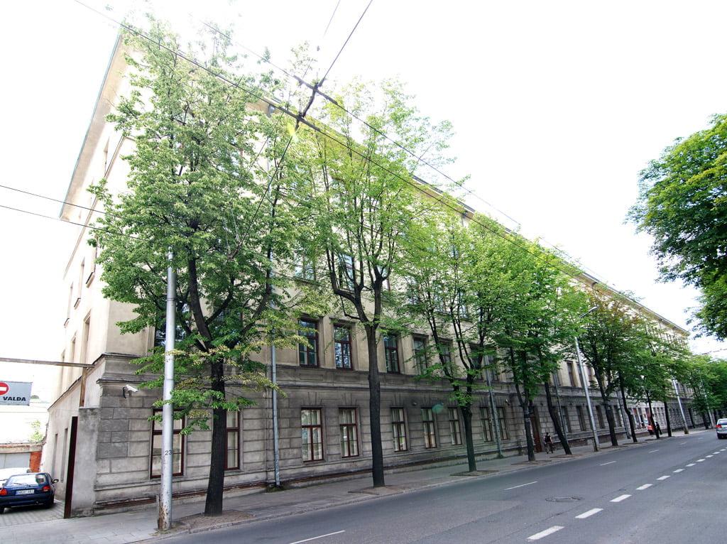 Buvęs Mechanikos inžinerijos ir dizaino fakulteto pastatas (Kęstučio g. 27, plotas 7033,18 kv. m). KTU nuotr.
