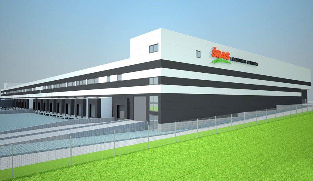 "Logistikos centras ""Šilas"". Projekto vizual."