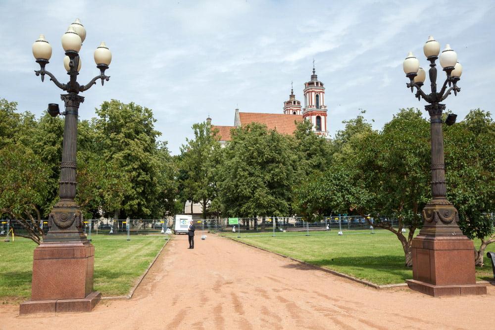 Lukiškių aikštė. S. Žiūros nuotr.