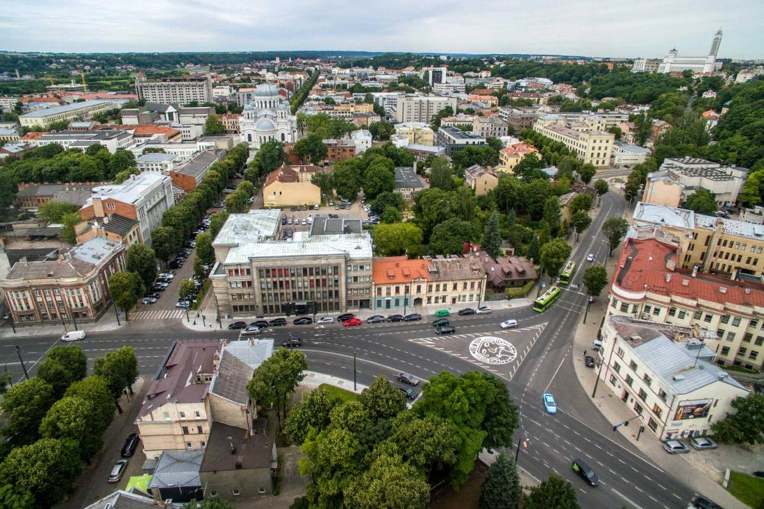 Jurgio Mačiūno aikštė. Kauno savivaldybės nuotr.