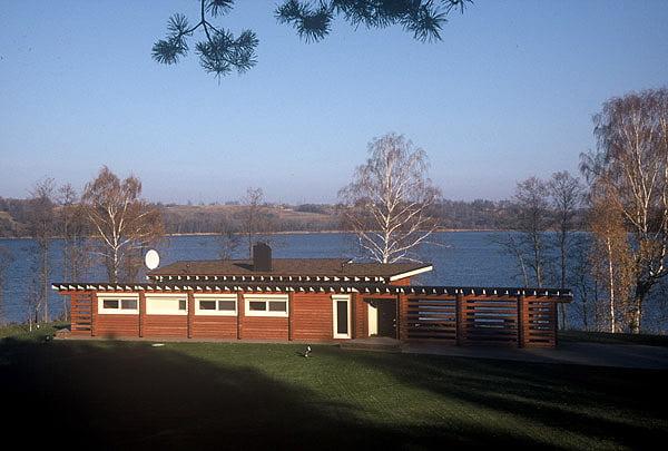 Vila prie Kalvių ežero