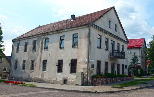 Vazos namas (Seinų g. 1).