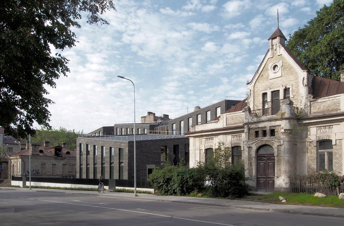 Gyvenamųjų namų kompleksas Vilniuje, A. Mickevičiaus g. 5.