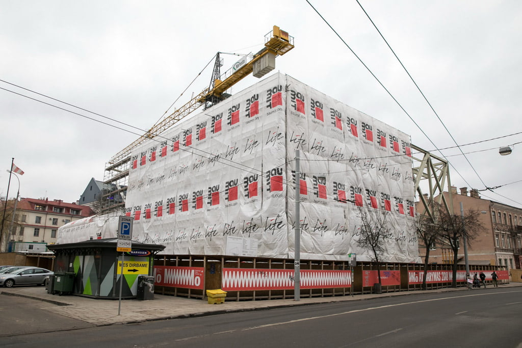 MO muziejaus statybos