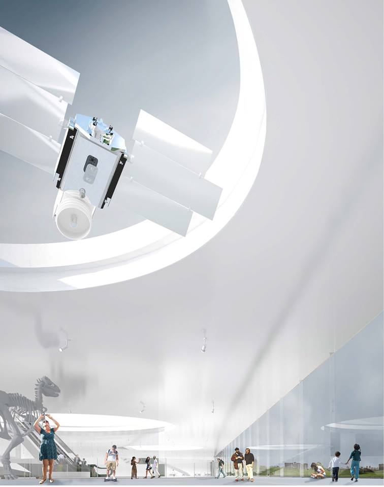 "Ispanijos bendrovės ""SMAR Architecture Studio"" projektas"