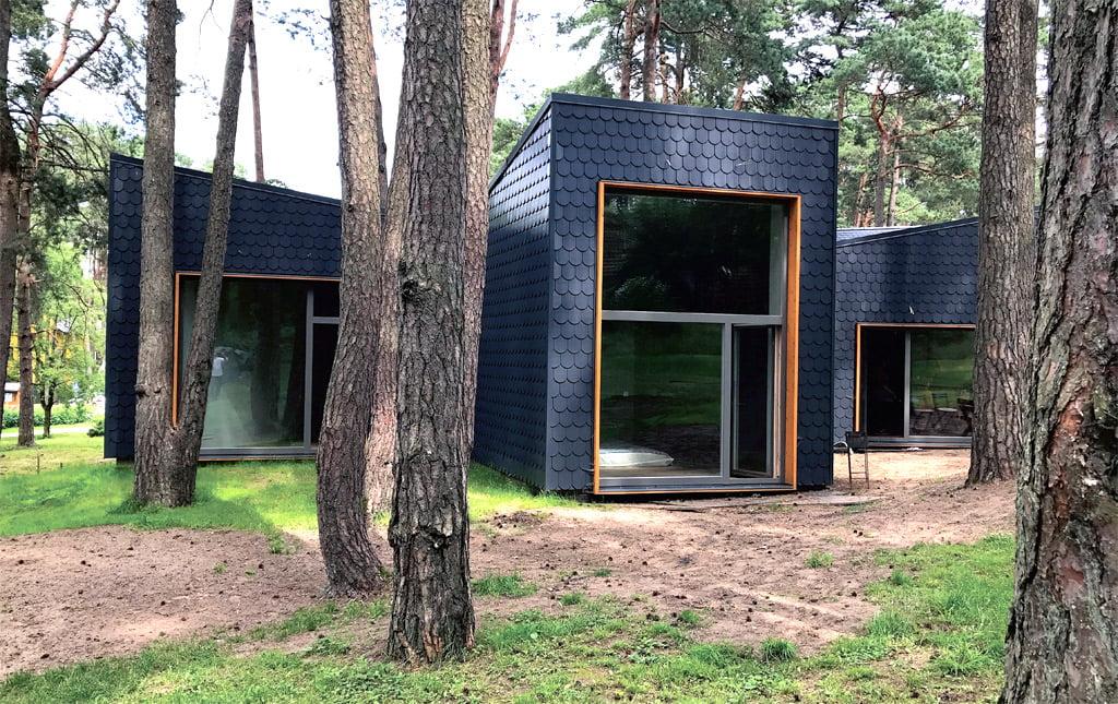 Individualus gyvenamasis namas Kačerginėje (2018 m.), projekto architektas – Gintaras Balčytis.