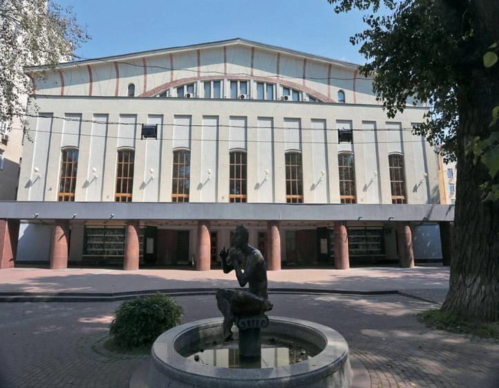 "2. Istorinio ""Mossoveto"" teatro pastato rekonstrukcija (Maskva, Rusija)"