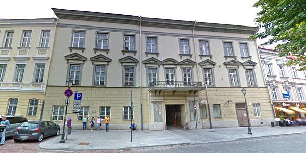 """Pacų rūmai (""""Google Street View"""" nuotr.)"""
