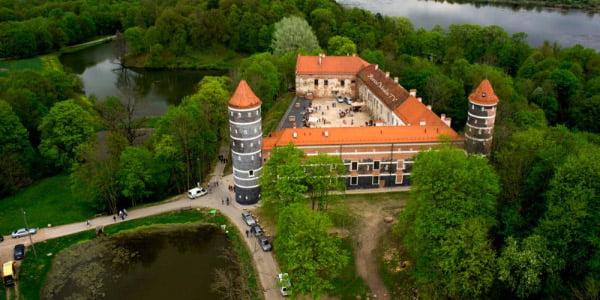 Panemunės pilies parkas (turistopasaulis.lt nuotr.)