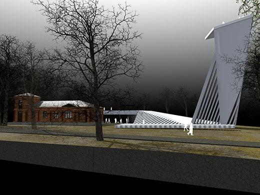 J.C. Besparnio sodybos sutvarkymo idėjos vizualizacija arch. Donatas Malinauskas.