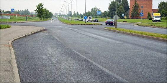 Savitiškio g. po remonto (panevezys.lt nuotr.)