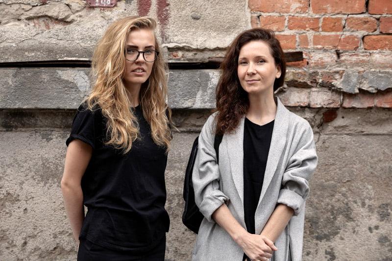 Gerda Liudvinavičiūtė (kairėje) ir Ligita Ažukaitė-Lileikė. KTU nuotr.