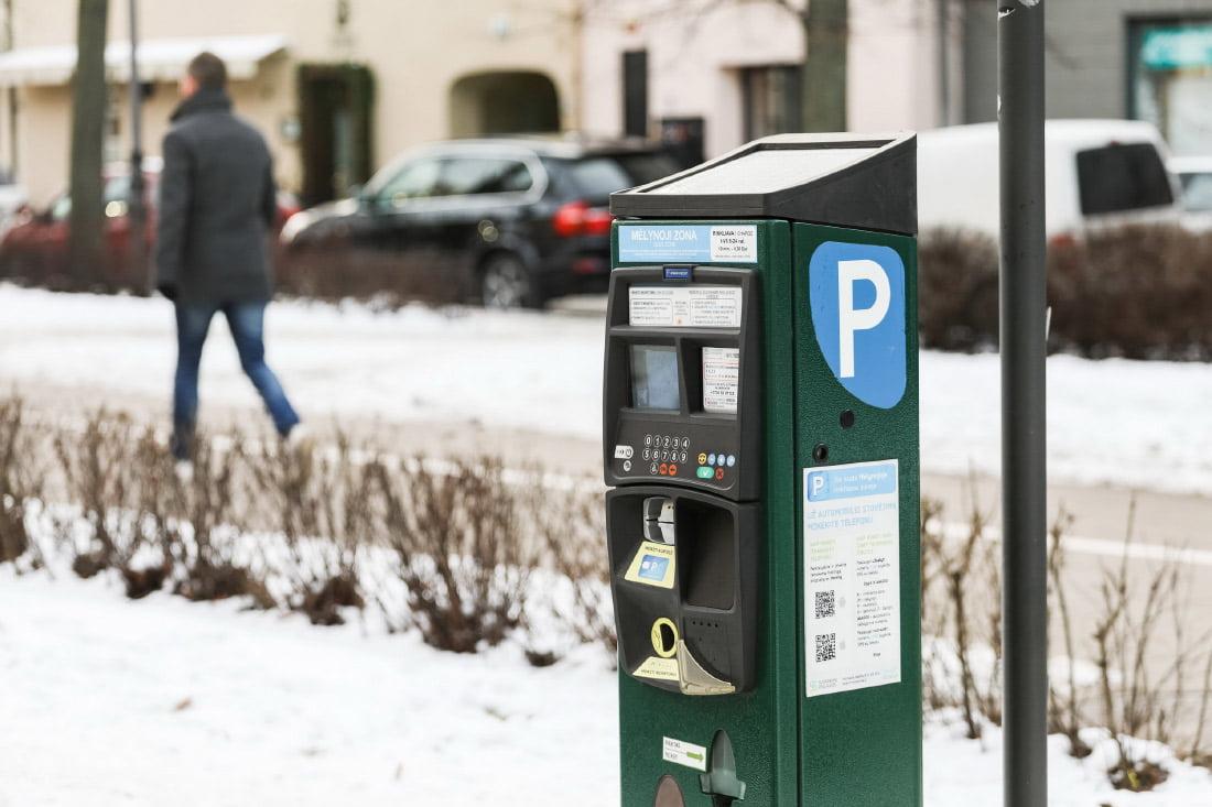 parkavimas vilnius kainos 1