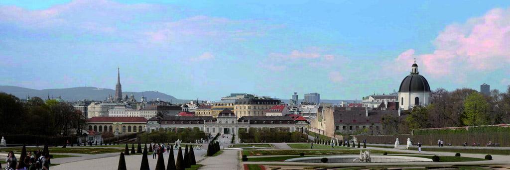 "Vienos istorinis centras Austrijoje. ""Europa Nostra"" nuotr."