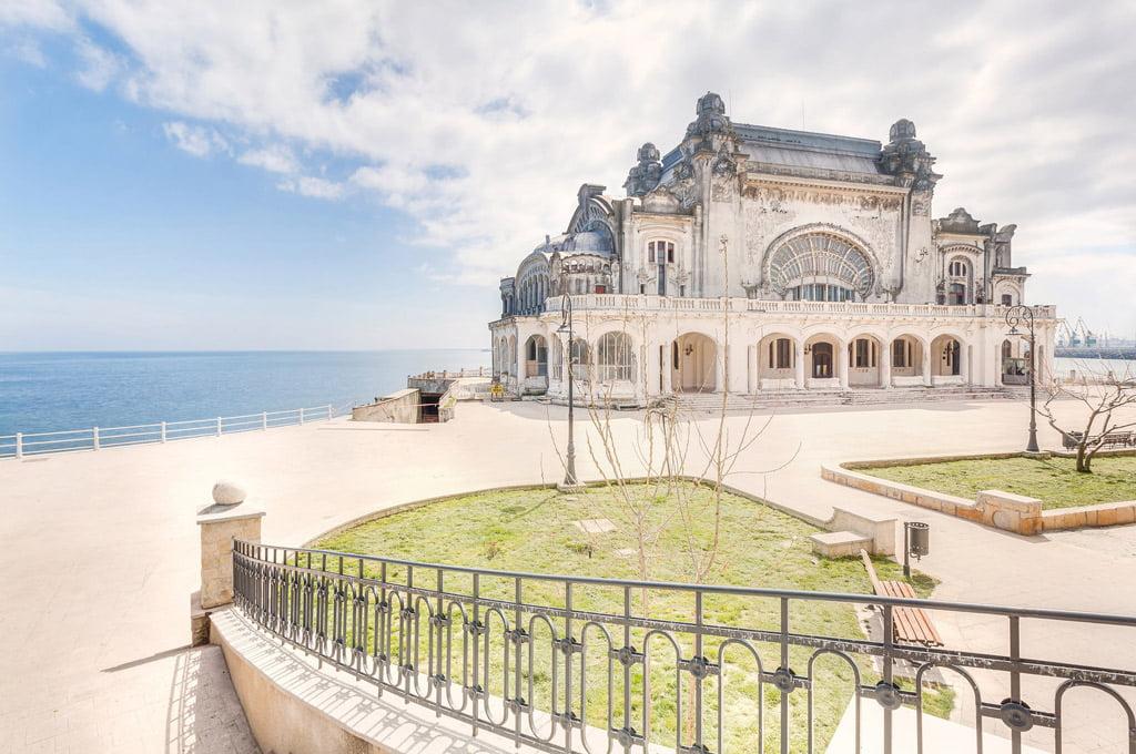 "Kazino pastatas ""Casino Constanta"" Rumunijoje. ""Europa Nostra"" nuotr."