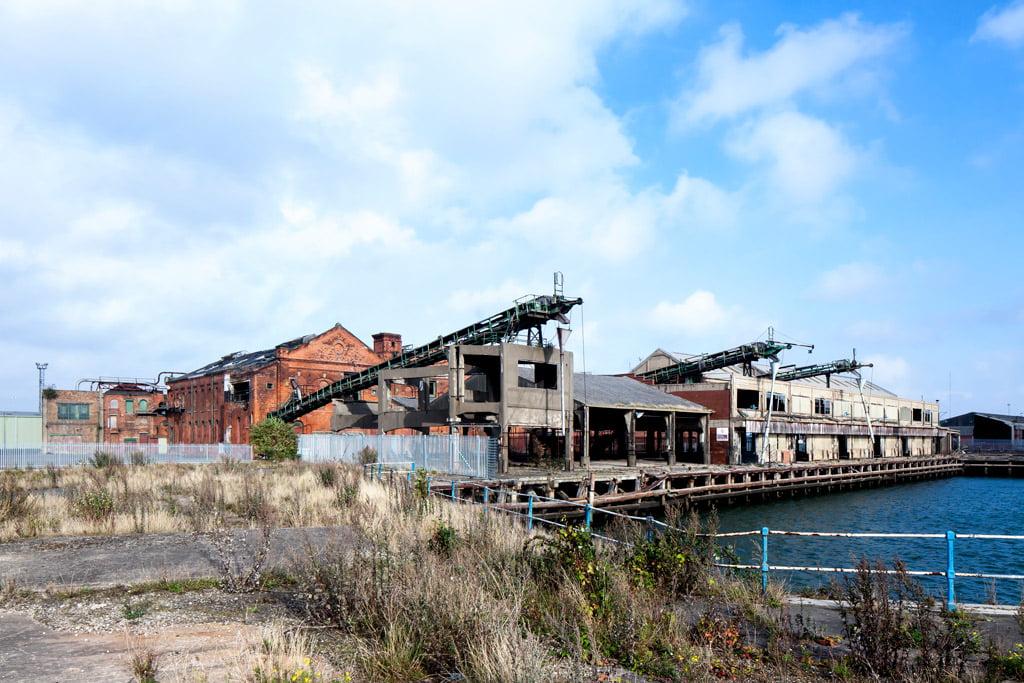 """""""Grimsby"""" ledų fabrikas Didžiojoje Britanijoje. """"Europa Nostra"""" nuotr."""