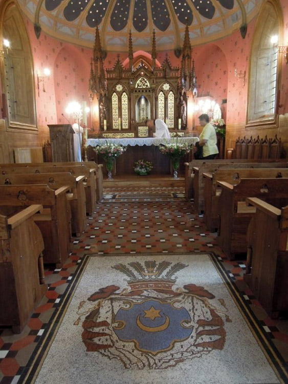 2016 m. pradžioje Trakų Vokės bendruomenė ir Lentvario parapija visuomenei pristatė unikalią Tiškevičių koplyčią-mauzoliejų Trakų Vokės dvare, netruko čia apsilankyti ir grafas Zygmuntas Tiškevičius.