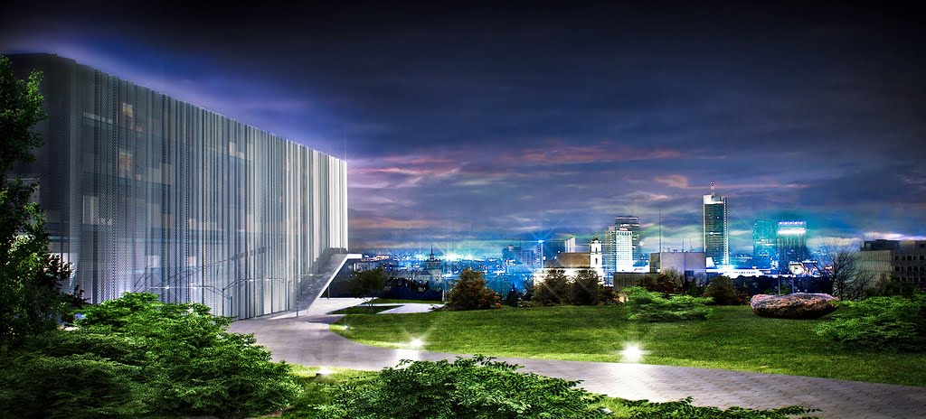 "Biuro ""Vilniaus architektūros studija"" vizual."
