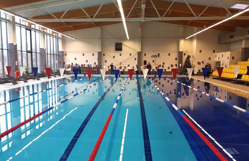 Baseine bus rengiamos ne tik tarptautinės varžybos, bet ir plaukimo pamokos vaikams.