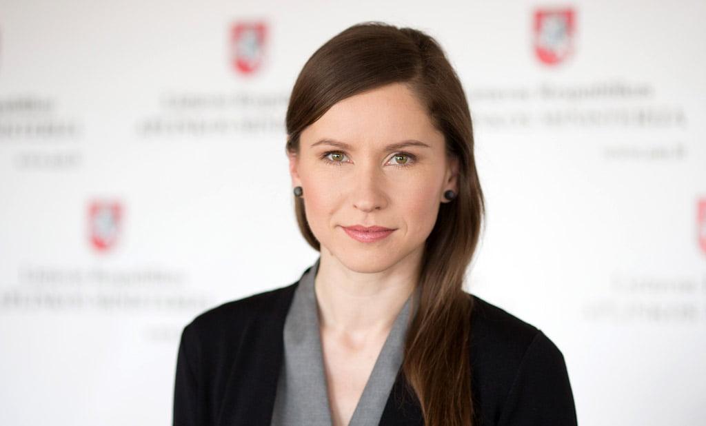 Aplinkos viceministrė Rėda Brandišauskienė. BFL nuotr.