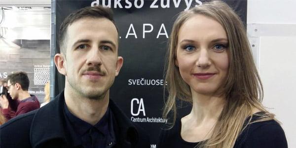 Grzegorz Piątek ir Rūta Leitanaitė.