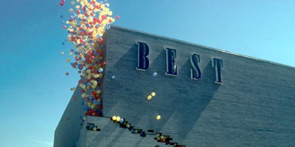 """""""Best"""" parduotuvė JAV. Architektai – """"Site""""."""