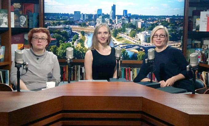 Irena Kliobavičiūtė, Rūta Leitanaitė ir Marija Drėmaitė.