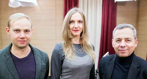 Tadas Jonauskis, Rūta Leitanaitė ir Gintaras Balčytis.<br>K. Mankausko nuotr.