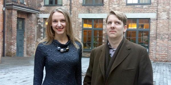 Rūta Leitanaitė ir Owenas Hatherley.