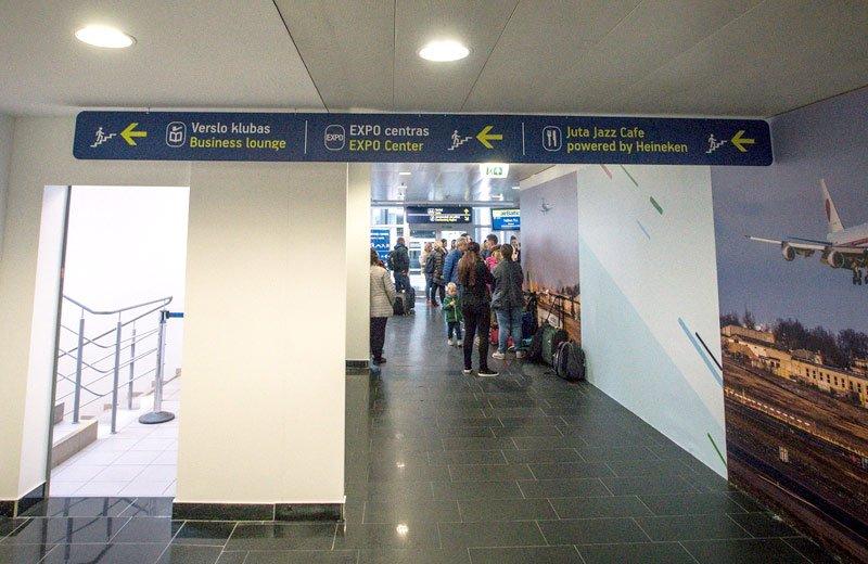 Vilniaus oro uosto terminalo rekonstrukcija