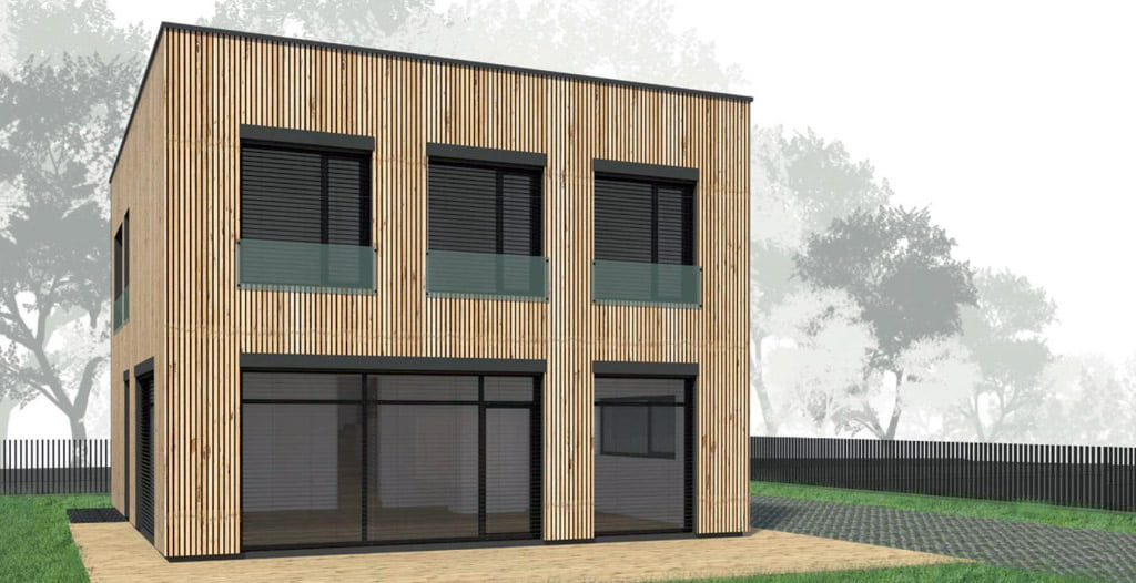 "Bendrovės ""Roda Architects"" vizual."