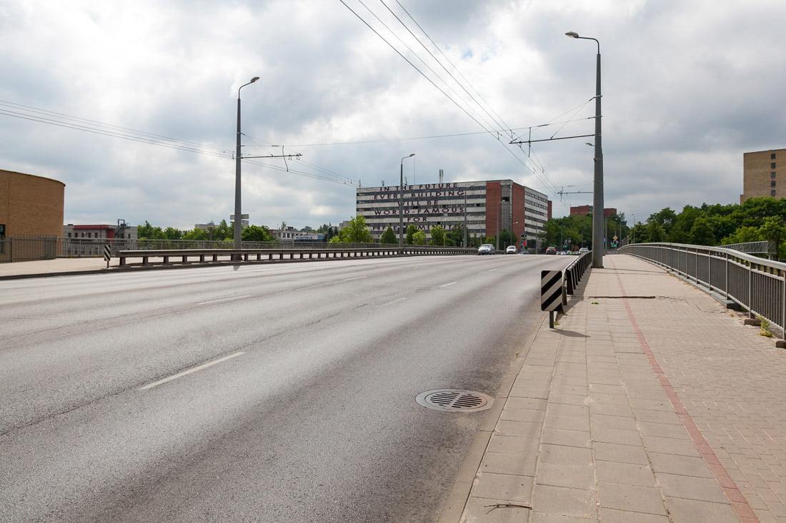 Rodūnios viadukas. Vilniaus savivaldybės nuotr.