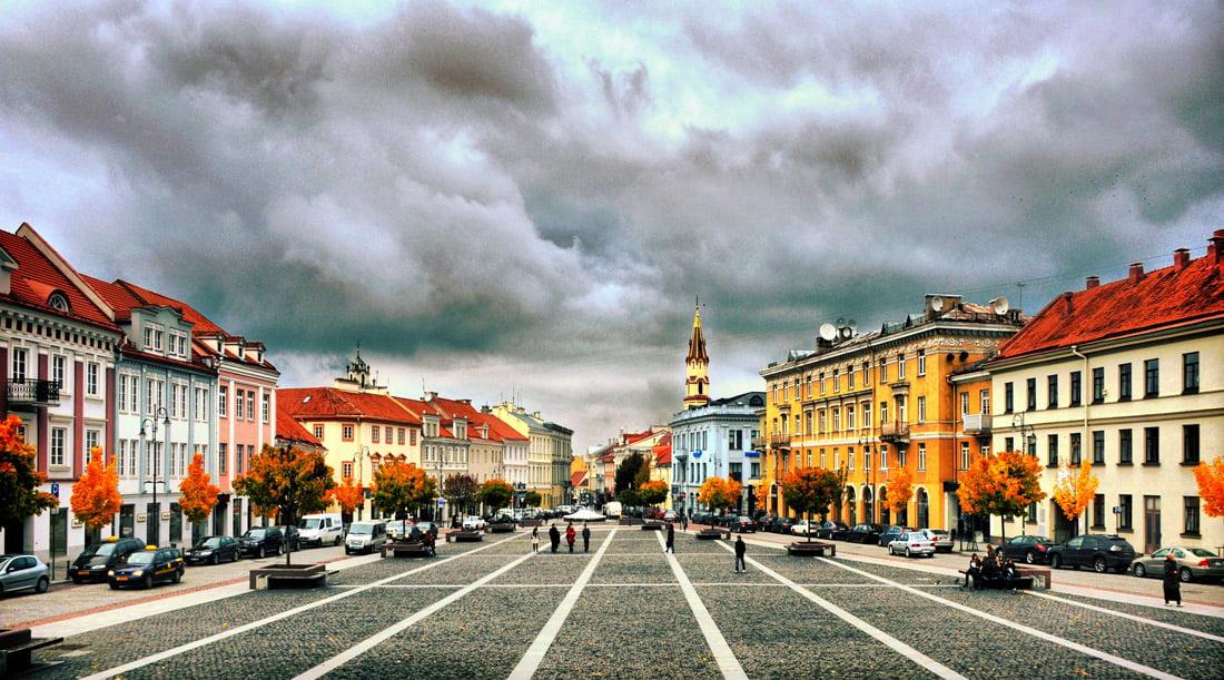 Vilniaus Rotušės aikštė. VGTU nuotr.