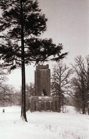 Stanislovas Lukošius. Vytauto pavilijonas buvusioje parodų aikštėje (prie dab. Viešosios bibliotekos), apie 1960 m. © Kauno miesto muziejaus rinkinys.