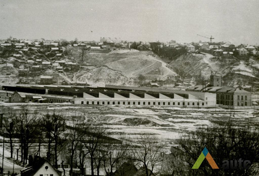 Stanislovas Lukošius. Fabrikas Vilijampolėje, 6 deš.vidurys, © KTU ASI archyvas.