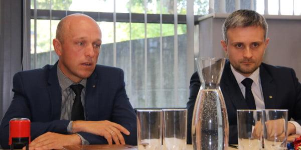 Saulius Urbanavičius (kairėje) ir Egidijus Skrodenis (LAKD nuotr.)