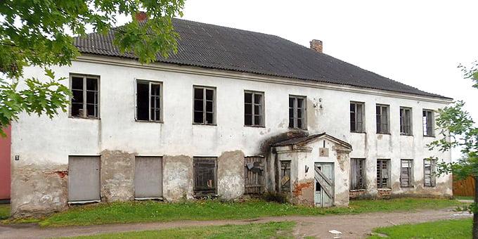 Šėtos sinagoga. KPD Kauno skyriaus nuotr.