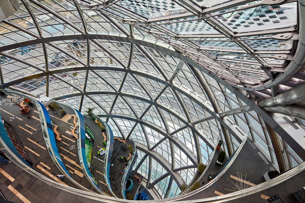 """Architektų biuro """"Adrian Smith + Gordon Gill Architecture"""" nuotr."""