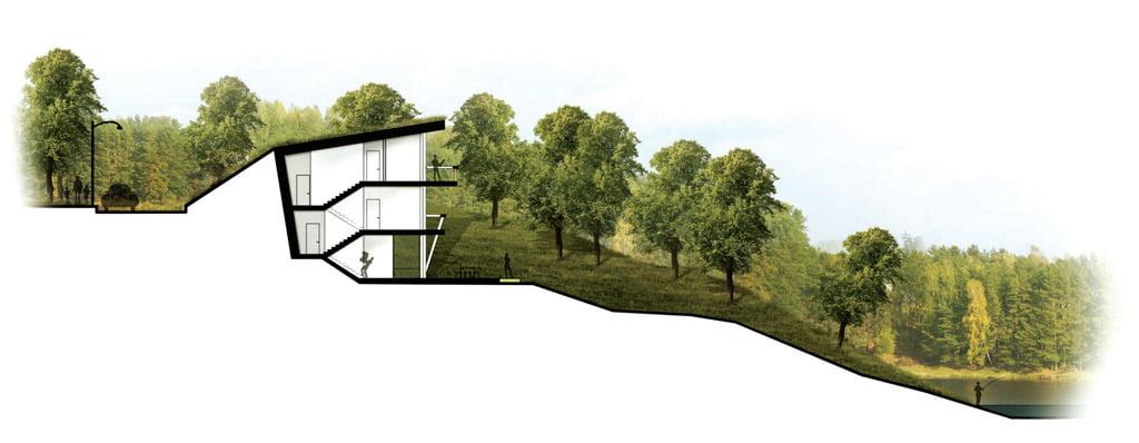 """Miesto vila """"Smėlio 69"""". Projekto autorius architektas Marijus Surdokas."""
