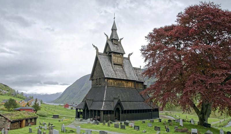 Kopperstadto bažnyčia Norvegijoje.