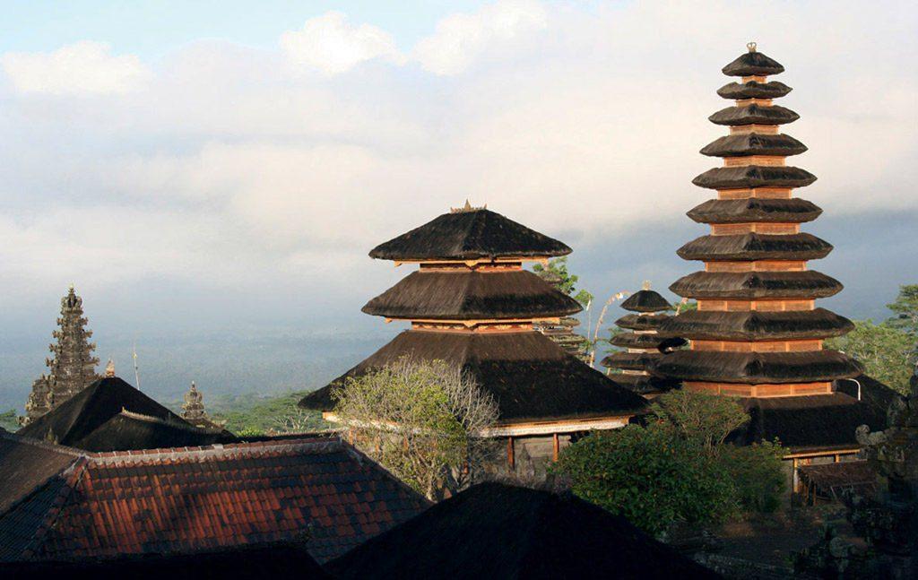 Pura Besakih šventykla Balyje.