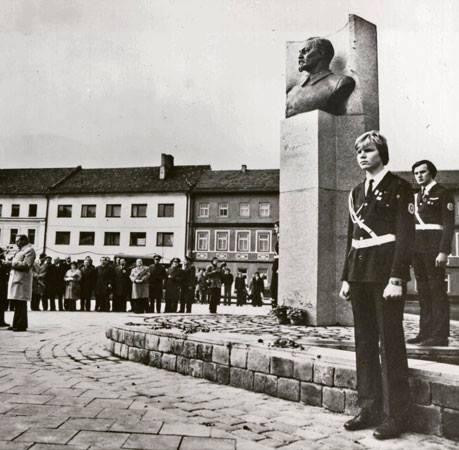 1981 m. F. Džeržinskio aikštė. J. Daniūno nuotr.